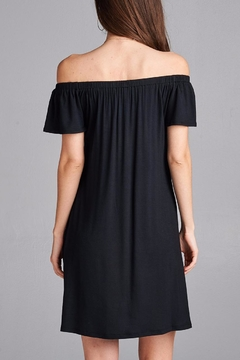 Active Basic Black Casual Dress - Alternate List Image