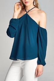 Active Basic Blue Open Shoulder - Product Mini Image