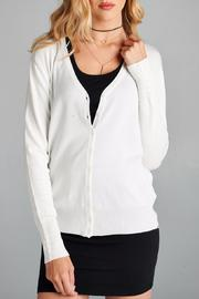 Active Basic Button Front Cardigan - Product Mini Image