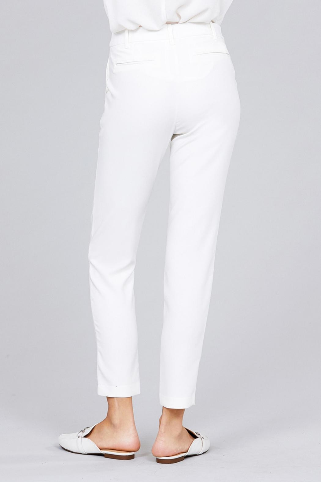 Active Basic Classic Seam Pants - Front Full Image