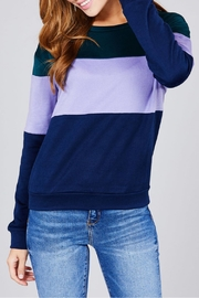 Active Basic Color Block Top - Front cropped