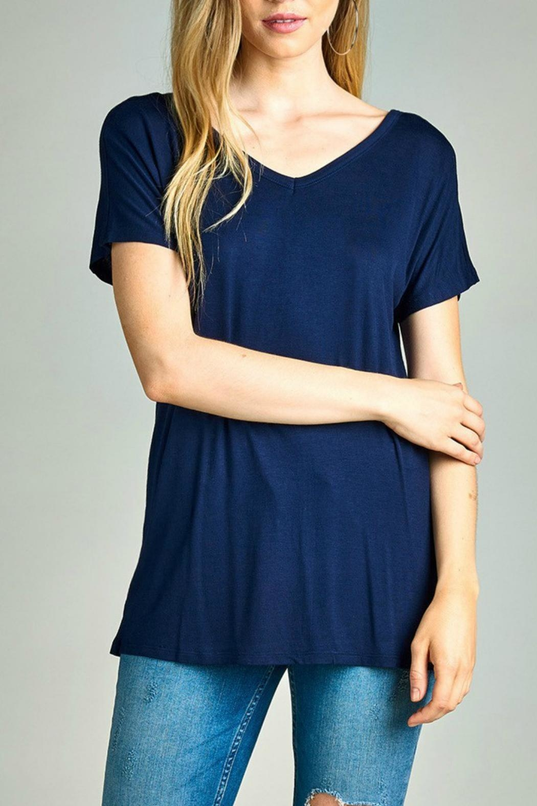 Active Basic Crisscross Top - Front Cropped Image
