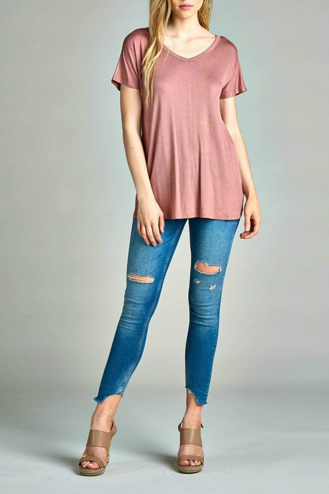 Active Basic Crisscross Top - Side Cropped Image