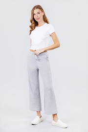 Active Basic Cropped Flare Sweatpants - Product Mini Image