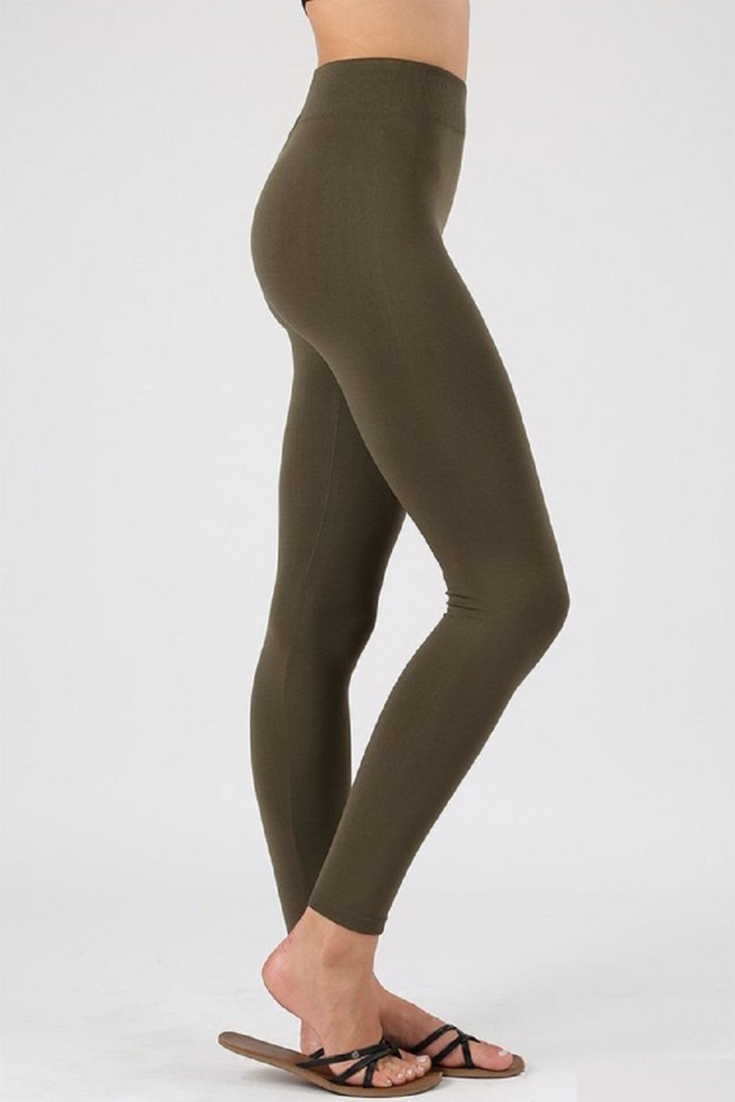 Active Basic Fleece Leggings - Main Image