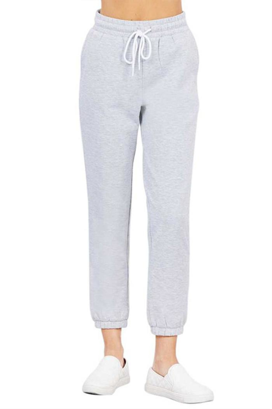 Active Basic Fleece Lined Jogger - Front Cropped Image