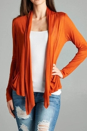 Active Basic Flyaway Cardigan - Front cropped