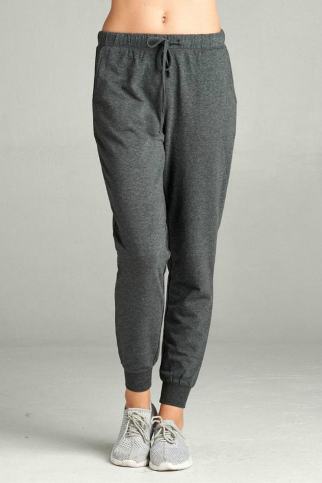 Active Basic French Terry Jogger from Michigan by Posh ...
