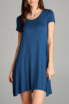 Active Basic Knit Swing Dress - Product List Image