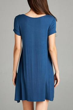 Active Basic Knit Swing Dress - Alternate List Image