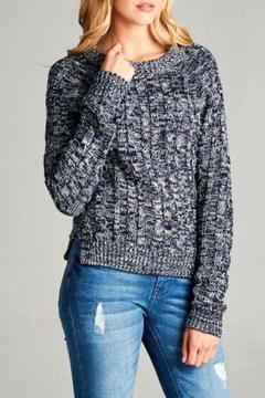 Active Basic Marble Knit Sweater - Alternate List Image
