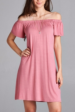 Active Basic Mauve Dress - Product List Image
