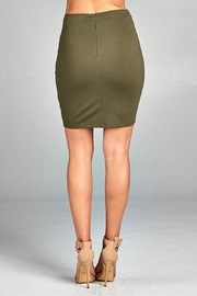 Active Basic Mini Ponte Skirt - Side cropped