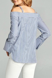 Active Basic Ots Oxford Top - Front full body