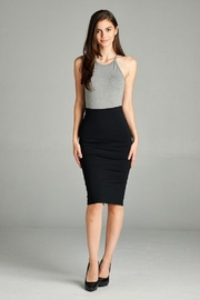 Active Basic Ponte Pencil Skirt - Product Mini Image