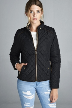 Shoptiques Product: Quilted Padded Jacket
