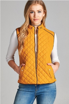Active Basic Quilted Padded Vest - Product List Image