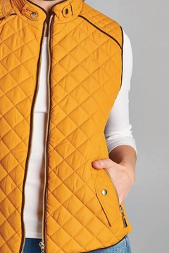 Active Basic Quilted Padded Vest - Alternate List Image