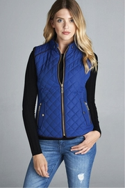 Active Basic Quilted Padded Vest - Product Mini Image