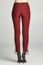 Active Basic Side Lace Skinny-Pants - Other