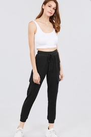 Active Basic Side Pocket Sweats - Front cropped