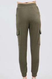 Active Basic Side Pocket Sweats - Front full body