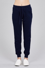 Active Basic Soft Drawstring Joggers - Front cropped