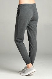 Active Basic Soft Drawstring Joggers - Side cropped