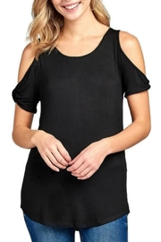 Active Basic Sophie Black Tee - Product Mini Image