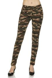 Active Style Camouflage Print Skinny - Product Mini Image