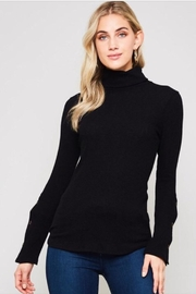 Active USA Black Turtleneck Top - Product Mini Image