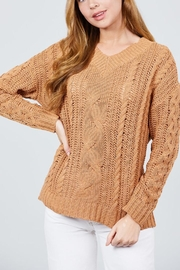 Active USA Terracotta Sweater - Product Mini Image