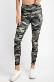 Madison Activewear Camouflage Leggings - Front cropped