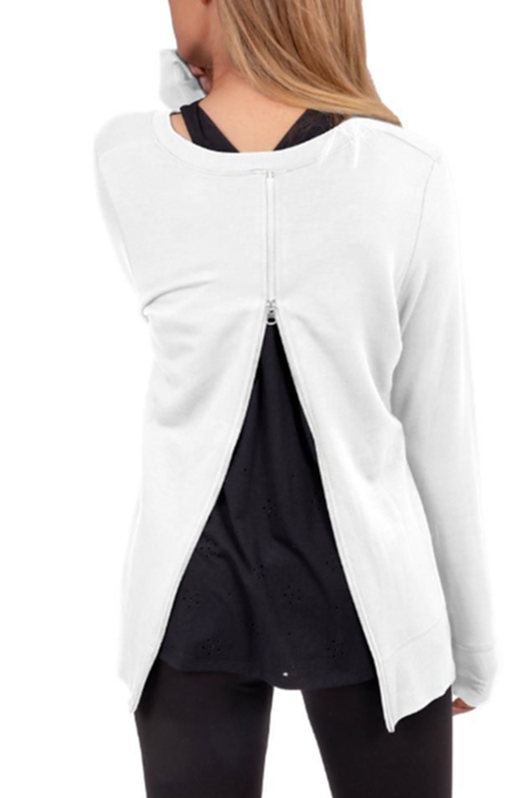 Soybu Acute Pullover - Side Cropped Image