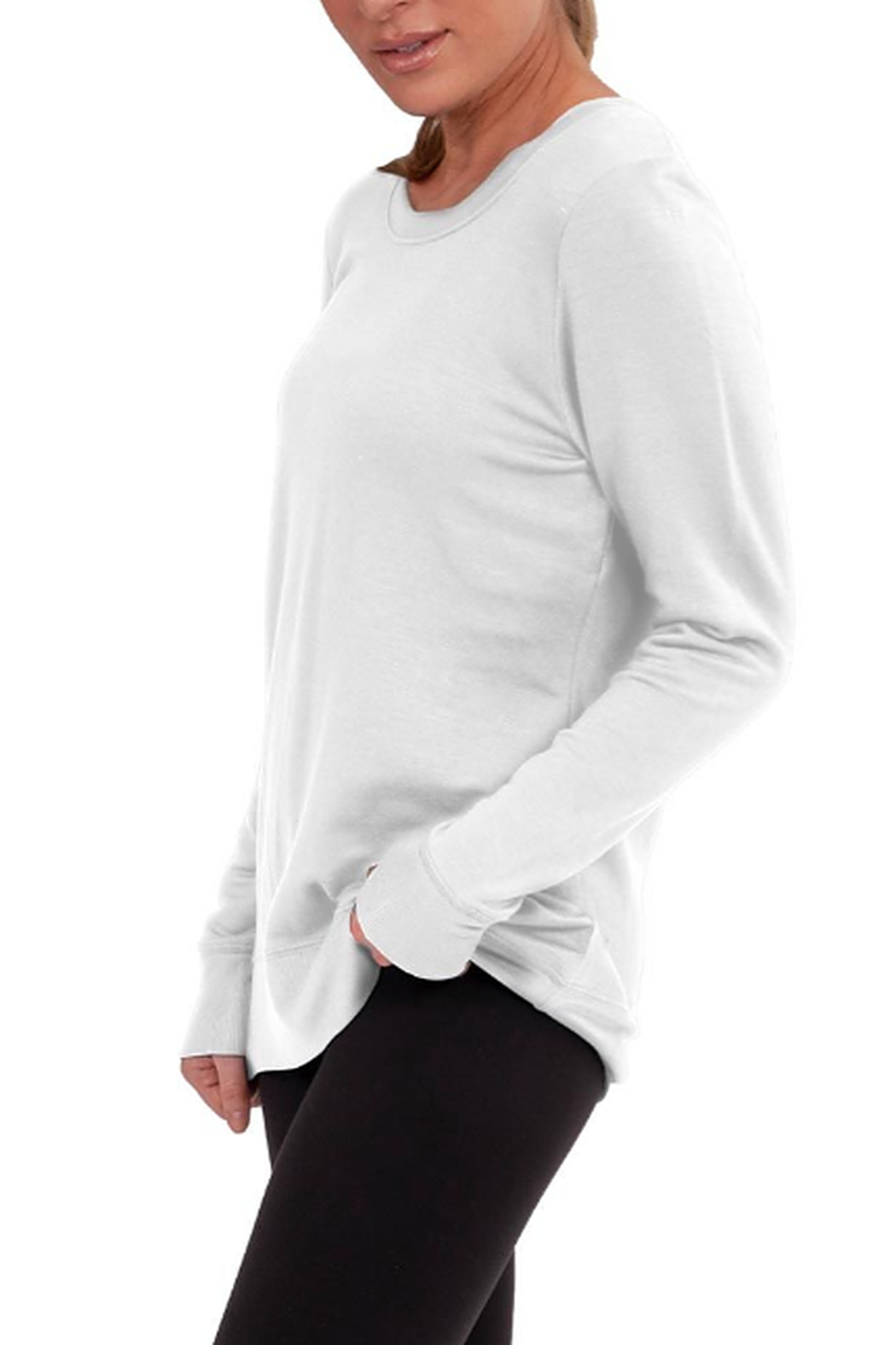 Soybu Acute Pullover - Back Cropped Image