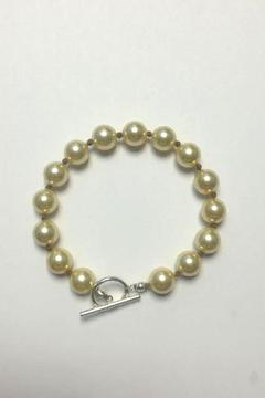 Shoptiques Product: Golden Pearl Bracelet