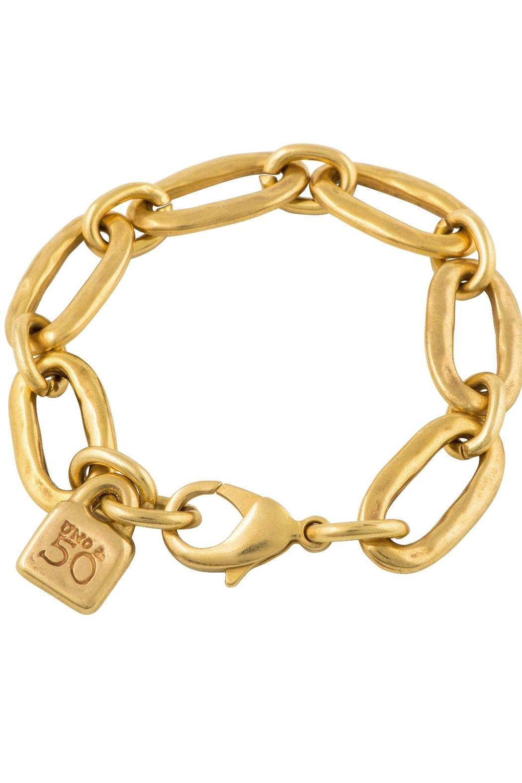 Uno de 50 Awesome Gold Bracelet , Front Full Image