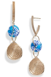 The Birds Nest ADA GLASS DROP EARRING - Product Mini Image