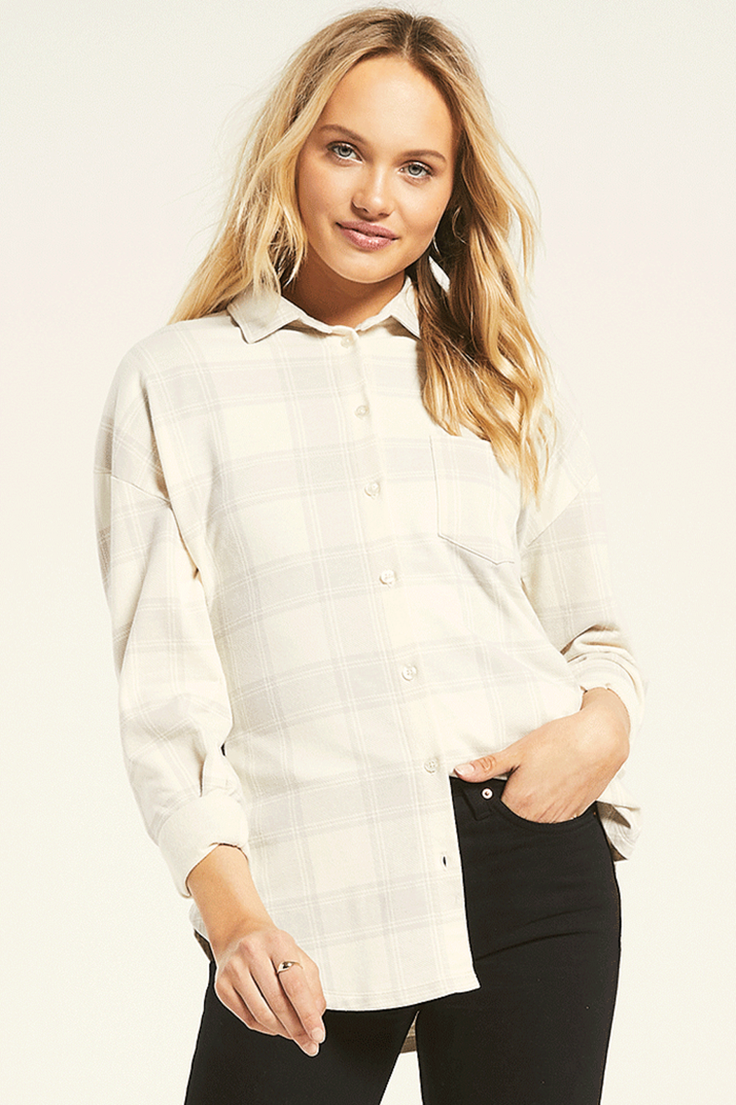 z supply Ada Plaid Shirt - Main Image