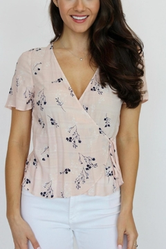 Gentle Fawn Adalene Floral Wrap Top - Alternate List Image