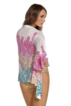 OndadeMar Printed Kimono - Alternate List Image