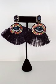 Adriana Bijoux Addison Evil Eye Earrings - Product Mini Image