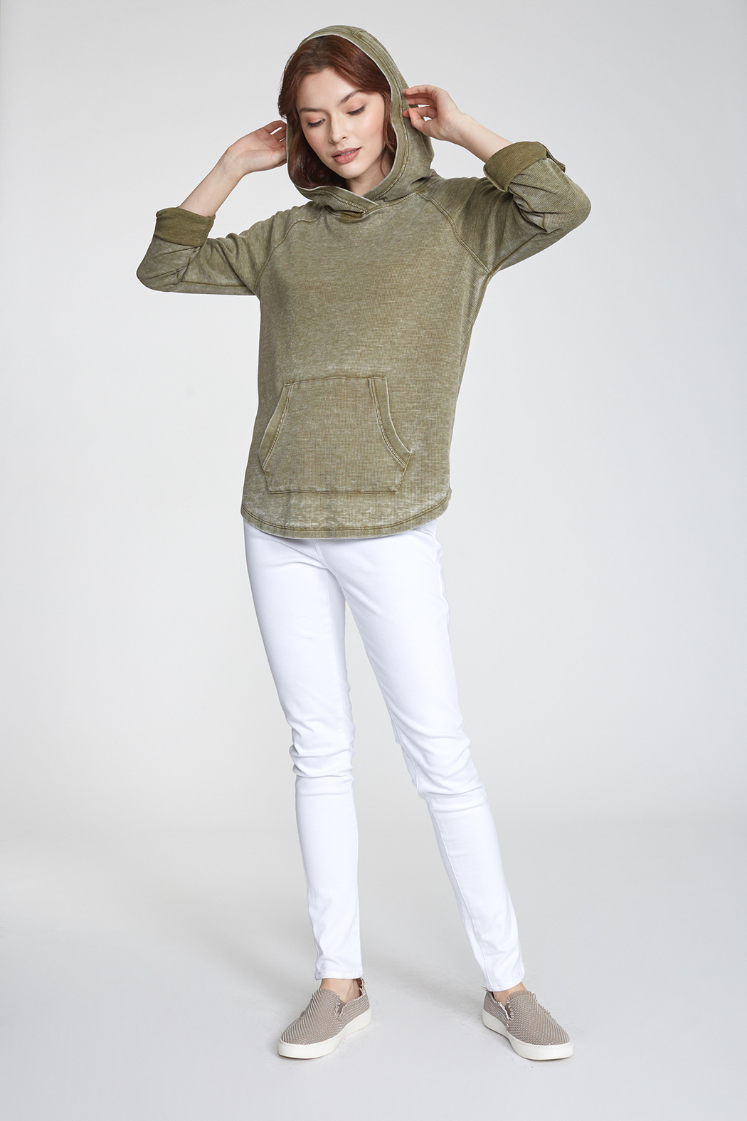 Another love  Addison Thermal Hoodie - Front Full Image