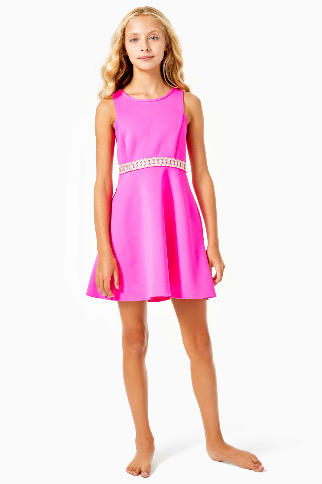 Lilly Pulitzer  Addyson Dress - Back Cropped Image