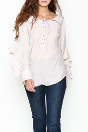 Adeline Ruffle Sleeve Blouse - Product Mini Image