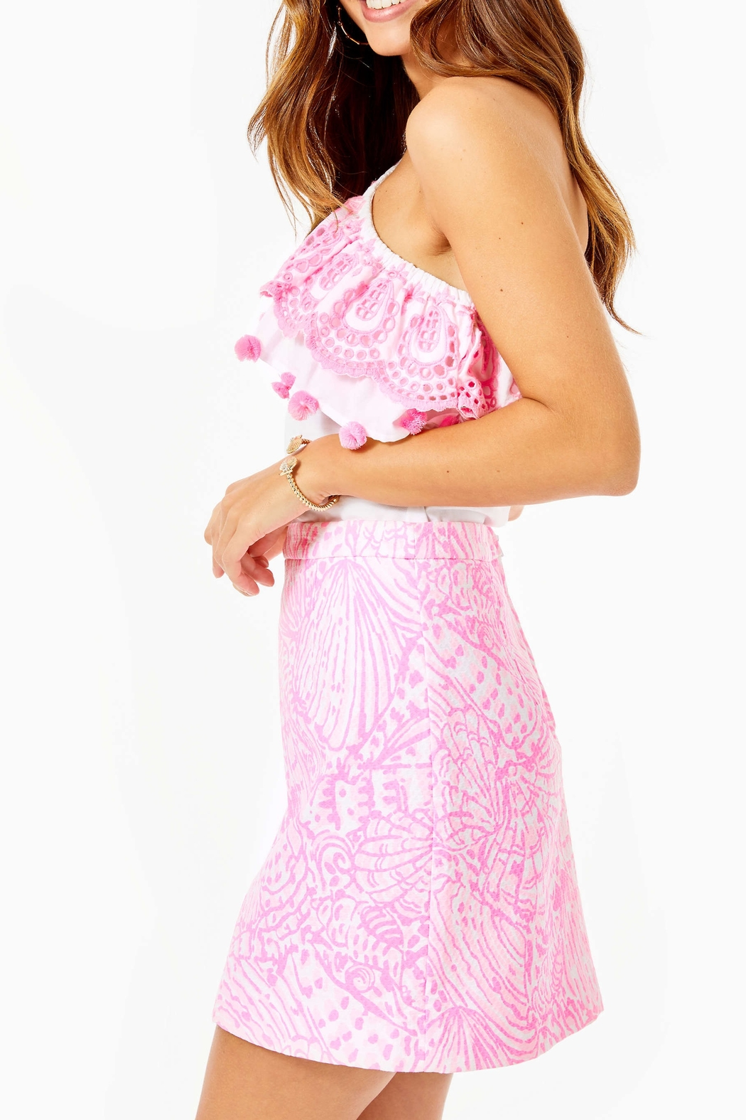 Lilly Pulitzer Adeline Skirt - Side Cropped Image