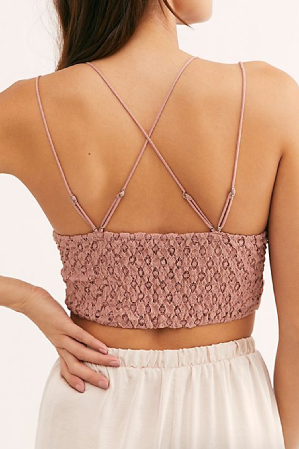 Free People Adella Bralette - Front Full Image
