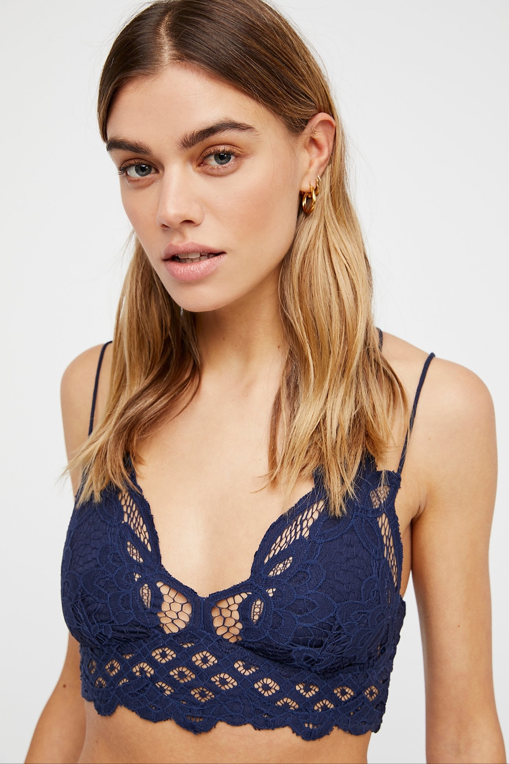 Free People Adella Bralette - Front Cropped Image
