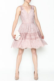 Adelyn Rae Estelle Lace Dress - Product Mini Image
