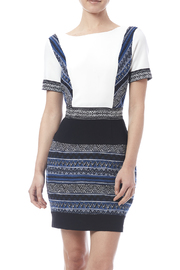 Adelyn Rae Jacquard Sheath Dress - Product Mini Image